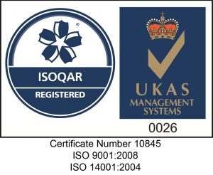 ISOQAR Logo with ISO Numbers 2017