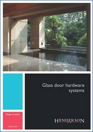 Glass Door Hardware Brochure Brochure