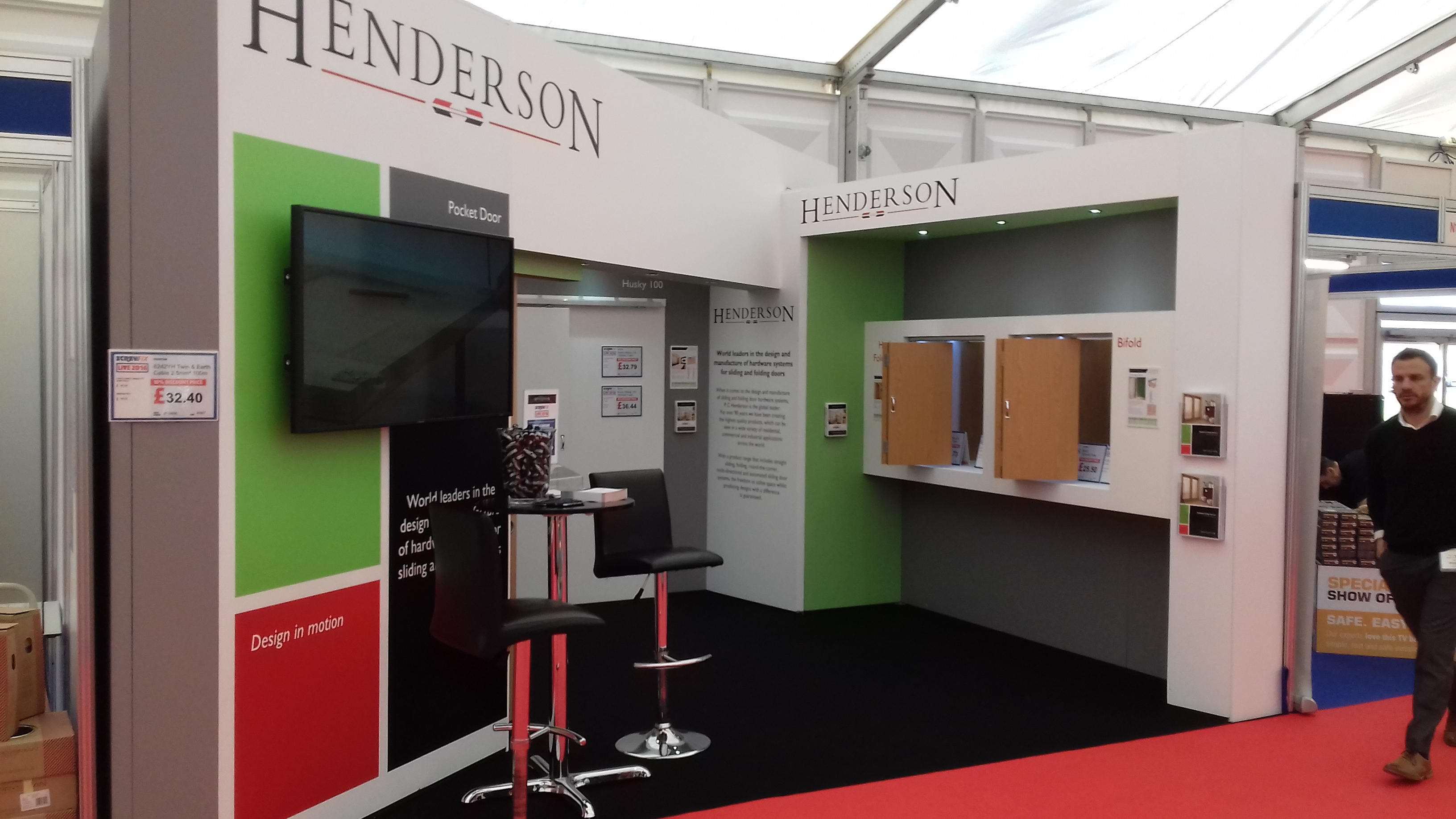 Successful Weekend At Screwfix Live 2016 P C Henderson
