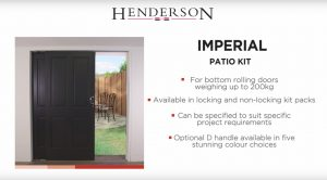 Imperial Patio Kit